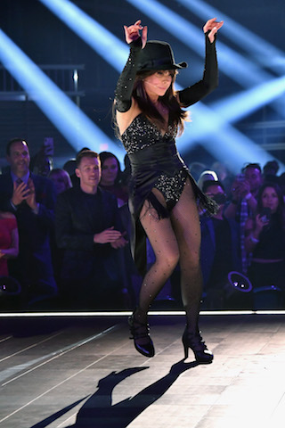 Paula Abdul performs onstage - Photo by Jeff Kravitz