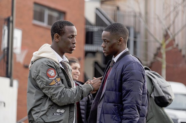 Stephen Odubola (Timmy) and Micheal Ward (Marco)